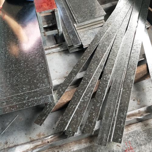 镀锌板剪板折弯